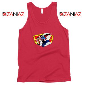 Ninja Team Gatchaman Anime Red Tank Top