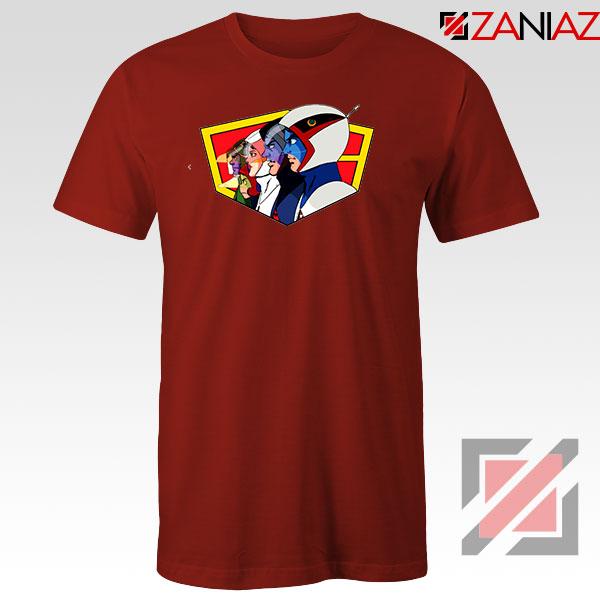 Ninja Team Gatchaman Anime Red Tshirt