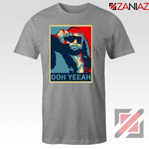Ohh yeeah Randy Savage Sport Grey Tshirt