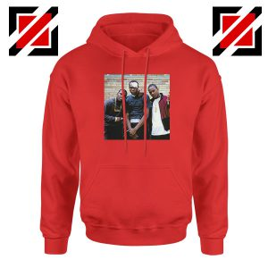 Paid in Full Dryfit Poly Best Red Hoodie