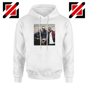Paid in Full Dryfit Poly Best White Hoodie