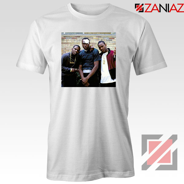 Paid in Full Dryfit Poly Best White Tshirt