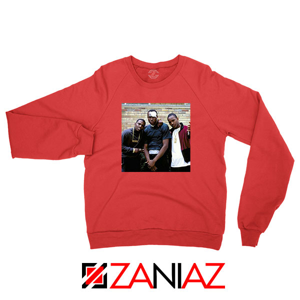 Paid in Full Dryfit Poly Red Sweatshirt