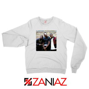 Paid in Full Dryfit Poly White Sweatshirt
