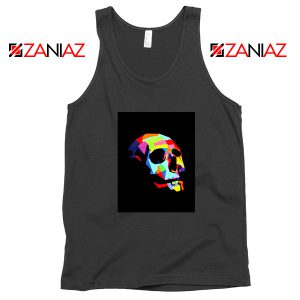 Skull Wpap Art 2021 Best Black Tank Top