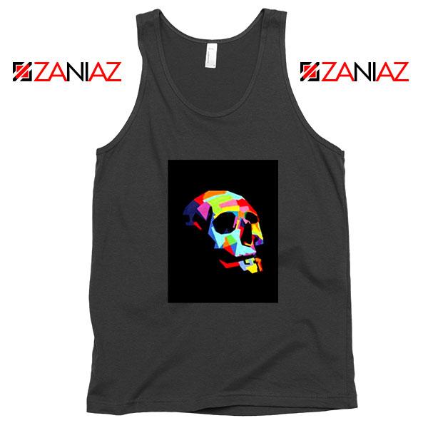 Skull Wpap Art 2021 Best Black Tank Top