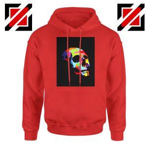 Skull Wpap Art 2021 Best Red Hoodie