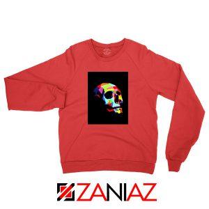 Skull Wpap Art 2021 Best Red Sweatshirt