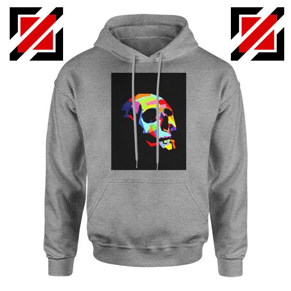 Skull Wpap Art 2021 Best Sport Grey Hoodie