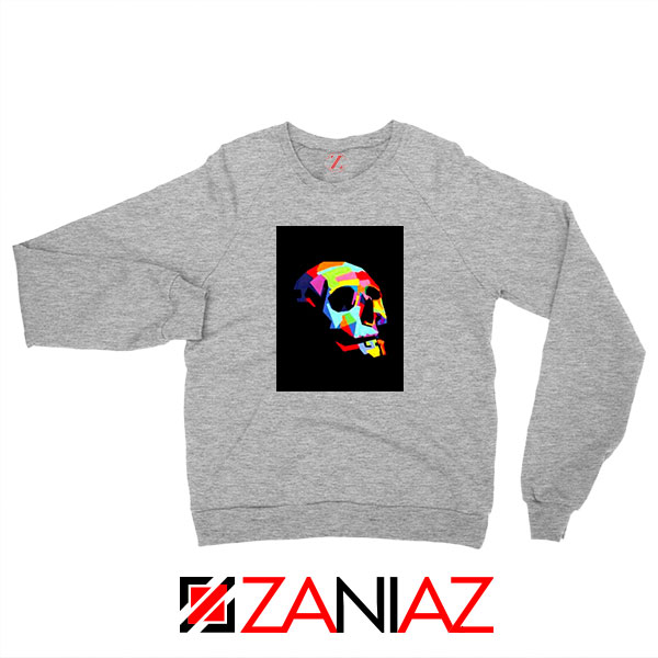 Skull Wpap Art 2021 Best Sport Grey Sweatshirt