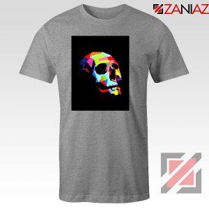 Skull Wpap Art 2021 Sport Grey Tshirt