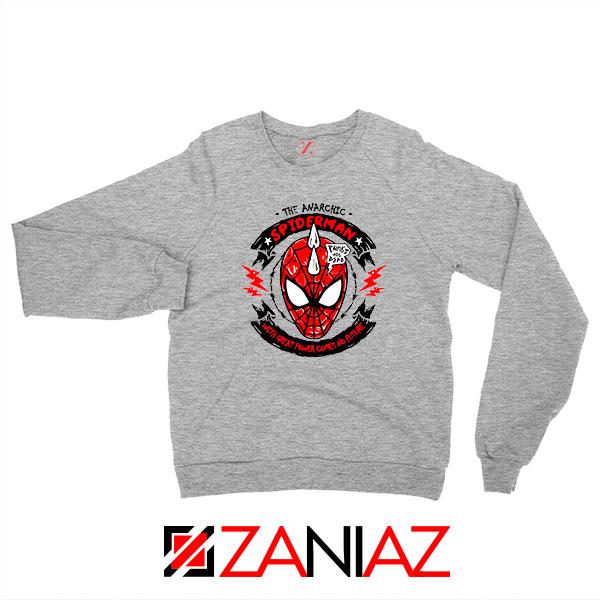 Spiderpunk Superhero 2021 Sport Grey Sweatshirt