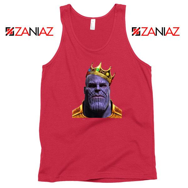 Thanos Ginsburg RBG Best Red Tank Top