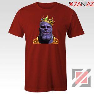 Thanos Ginsburg RBG Cheap Red Tshirt