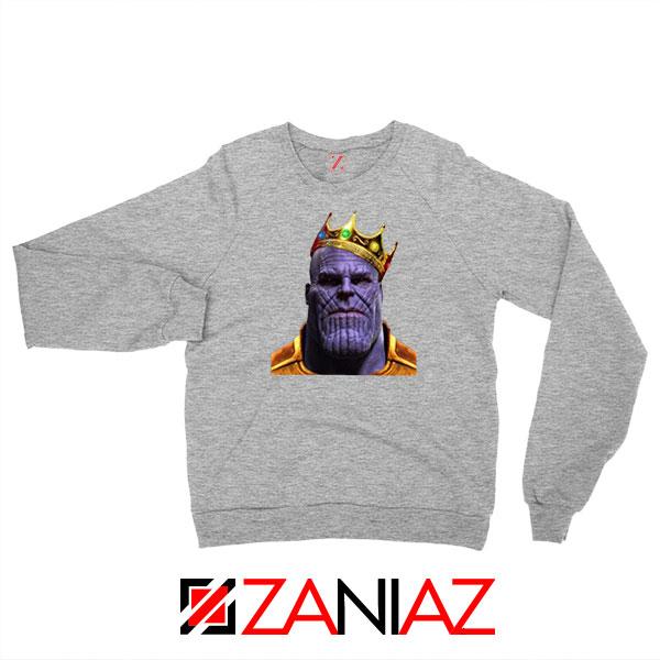 Thanos Ginsburg RBG Sport Grey Sweatshirt