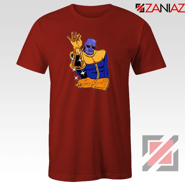 Thanos Infinity Bae Best Red Tshirt