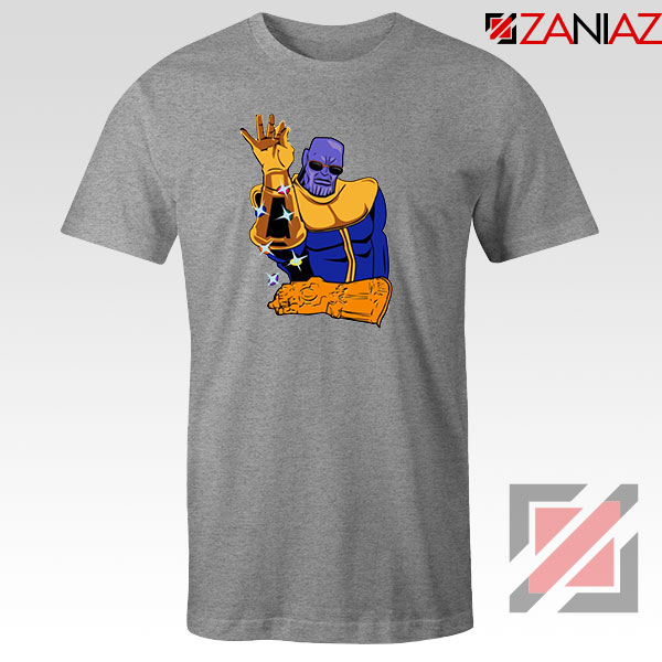 Thanos Infinity Bae Best Sport Grey Tshirt