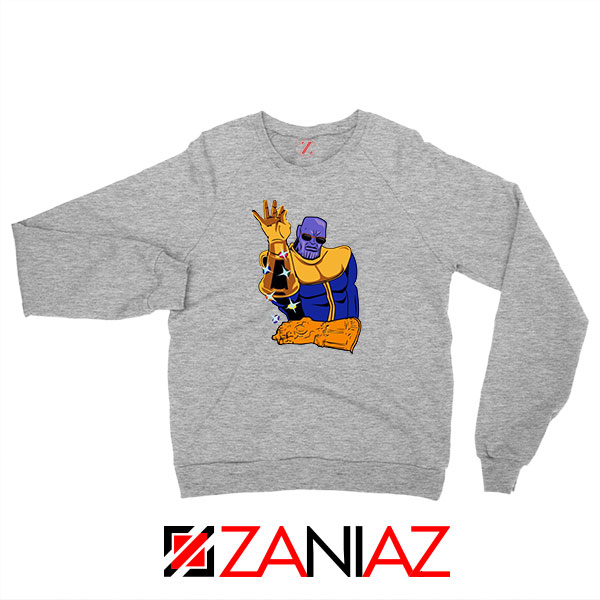 Thanos Infinity Salt Bae New Sport Grey Sweatshirt