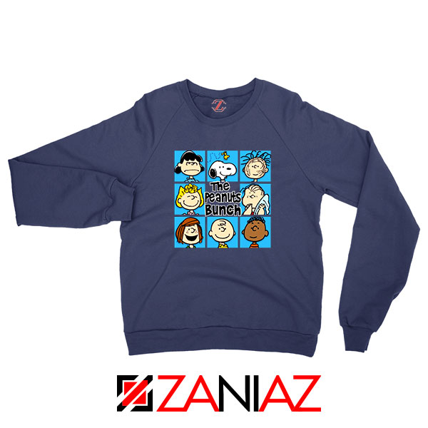 The Peanuts Bunch 2021 Navy Blue Sweatshirt