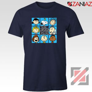 The Peanuts Bunch 2021 Navy Blue Tshirt