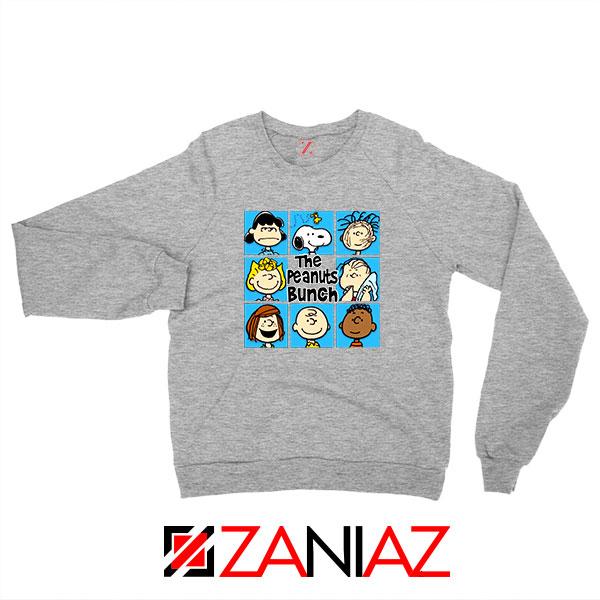 The Peanuts Bunch 2021 Sport Grey Sweatshirt