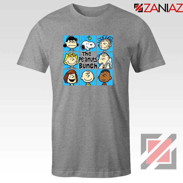 The Peanuts Bunch 2021 Sport Grey Tshirt