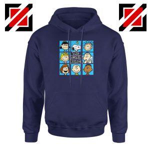 The Peanuts Bunch Best Navy Blue Hoodie