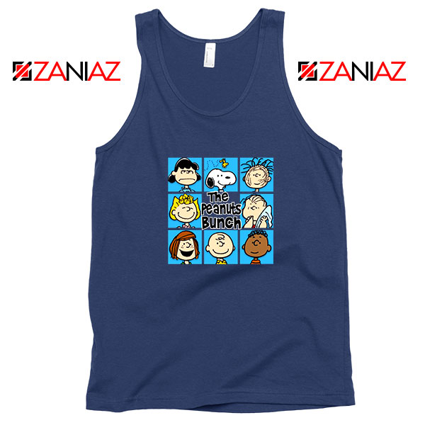 The Peanuts Bunch Best Navy Blue Tank Top