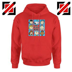 The Peanuts Bunch Best Red Hoodie