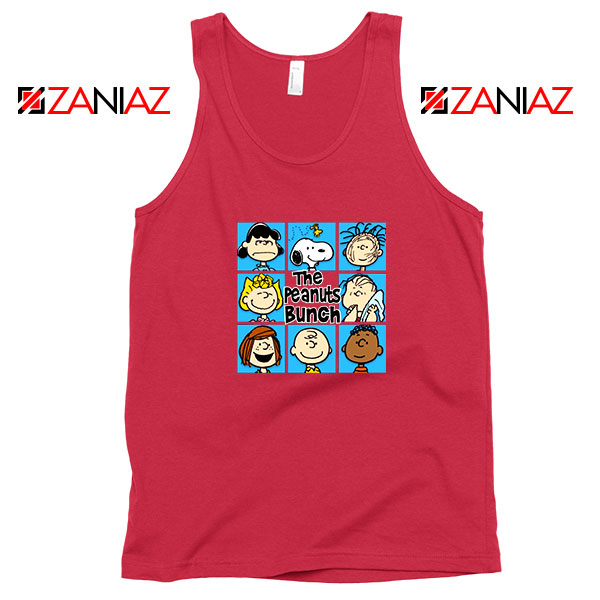 The Peanuts Bunch Best Red Tank Top