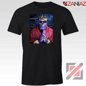 Thug Life Thanos 2021 Black Tshirt