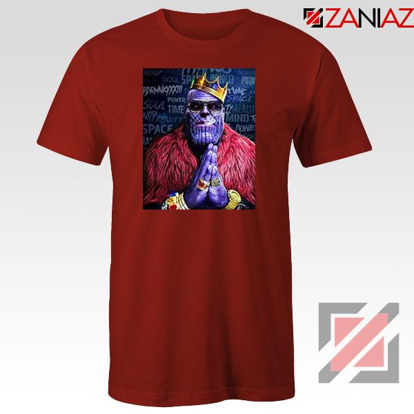 Thug Life Thanos 2021 Red Tshirt