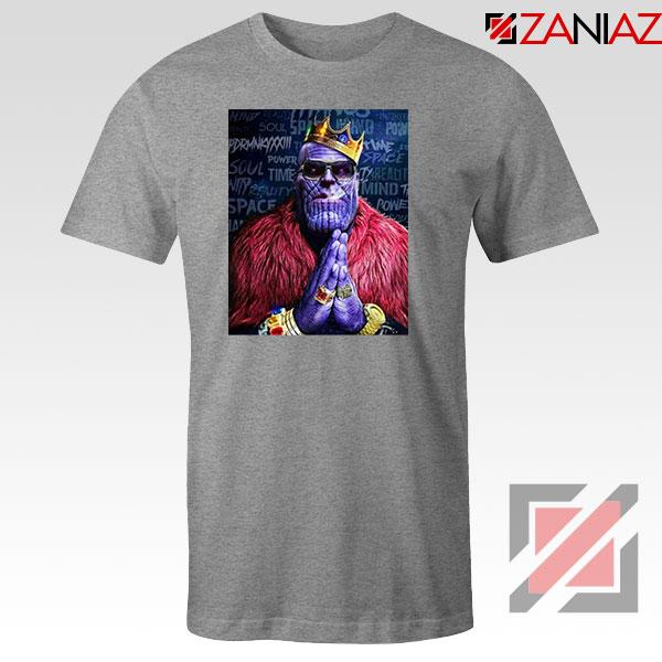 Thug Life Thanos 2021 Sport Grey Tshirt