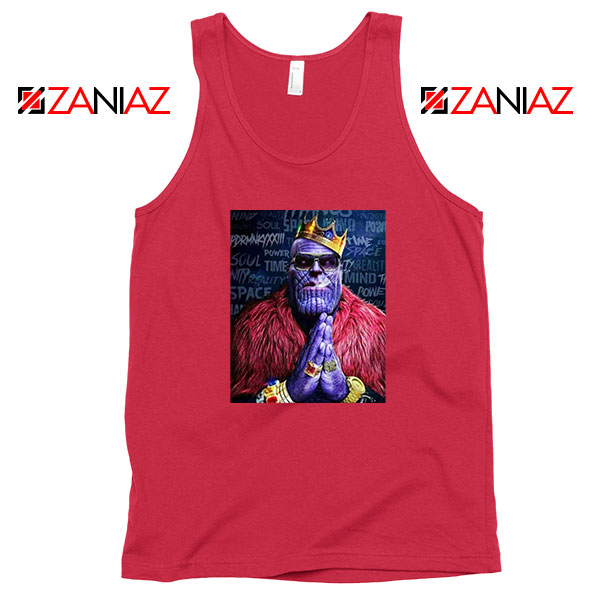 Thug Life Thanos Best 2021 Red Tank Top