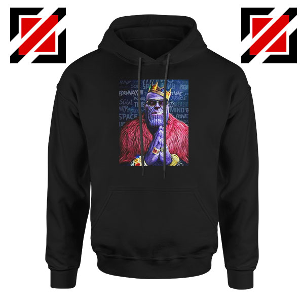 Thug Life Thanos Best Black Hoodie