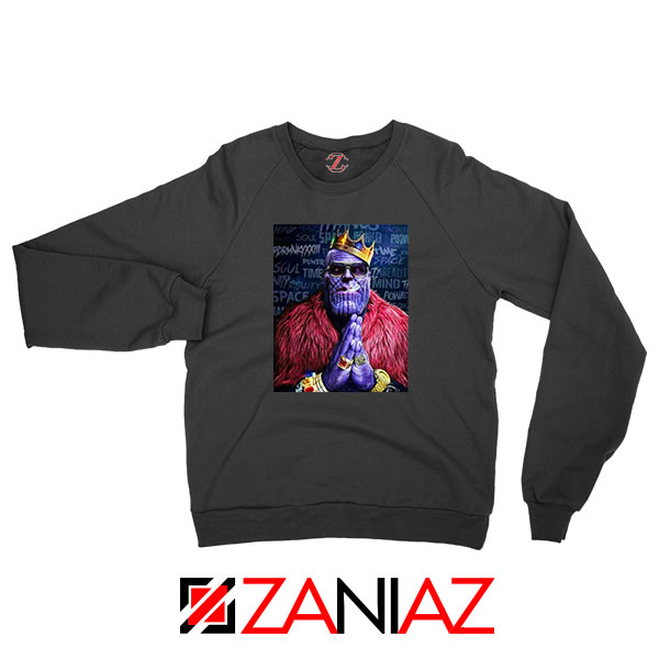 Thug Life Thanos Best Black Sweatshirt