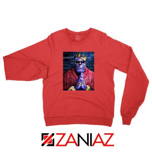 Thug Life Thanos Best Red Sweatshirt