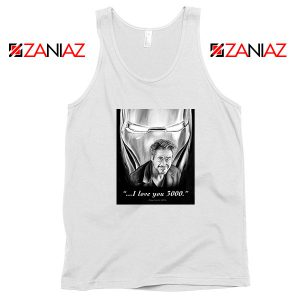 Tony Stark Love You 3000 Tank Top