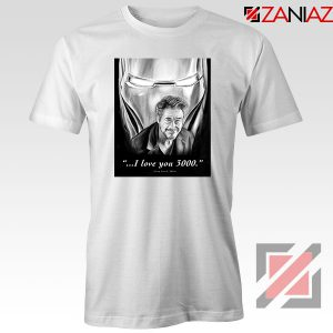Tony Stark Love You 3000 Tshirt