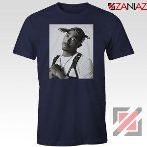 Tupac Black Bandana 2021 Navy Blue Tshirt