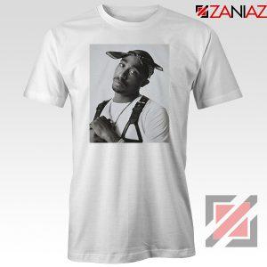 Tupac Black Bandana 2021 White Tshirt
