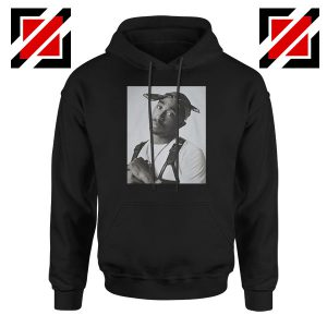 Tupac Black Bandana Best Hoodie