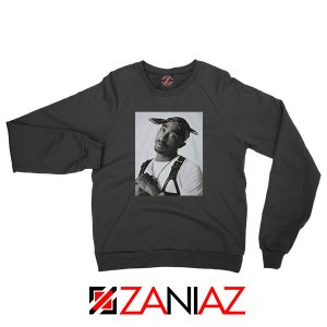 Tupac Black Bandana Best Sweatshirt