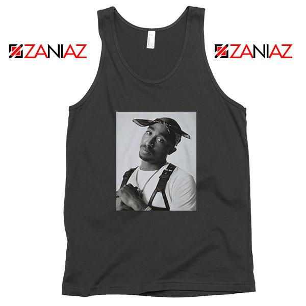Tupac Black Bandana Best Tank Top