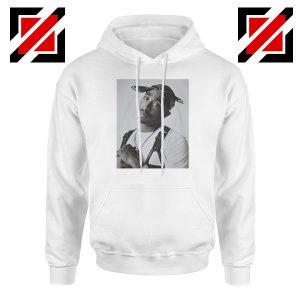 Tupac Black Bandana Best White Hoodie