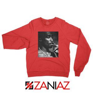 Tupac Shakur Smoke Best Red Sweatshirt