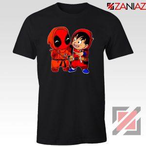 Baby Deadpool And Goku Black Tshirt