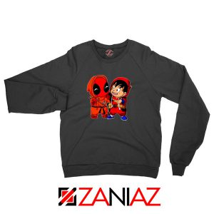 Baby Deadpool Son Goku Best Black Sweatshirt