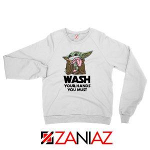 Baby Yoda Covid 19 Quotes Sweatshirt