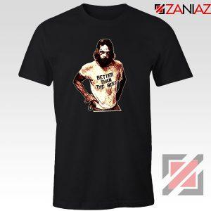 Better Than The Best Macho Man Black Tshirt